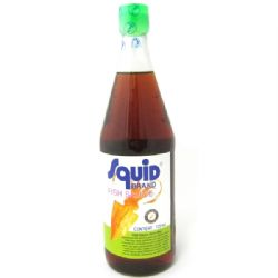 Thai Fish Sauce 725ml | Large | Squid Brand | Nam Pla | Buy Online | UK | Europe
